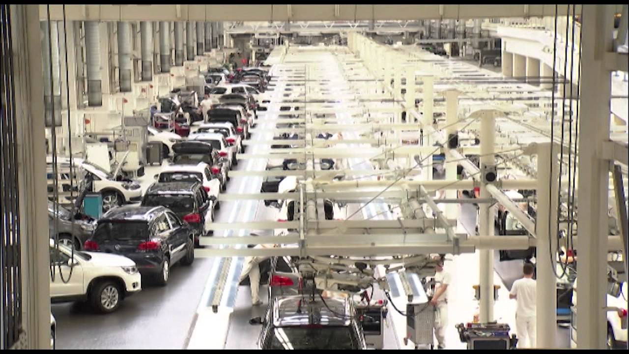 Volkswagen Factory Wolfsburg Tiguan Production Final