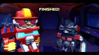 Angry Birds Transformers Optimus Prime get trouble - Android