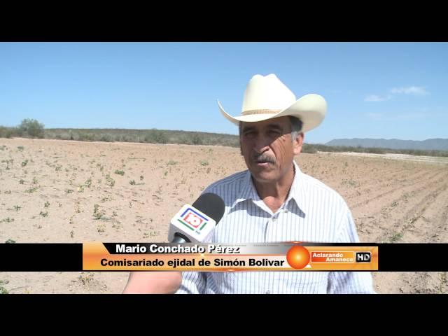 Durango y la grave sequia, productores Simon Bolivar
