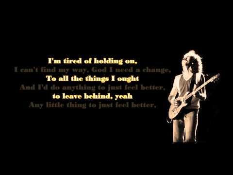 Santana ft. Steven Tyler - Just Feel Better (lyrics)