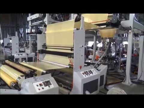 Higher toughness film machine in Uganda