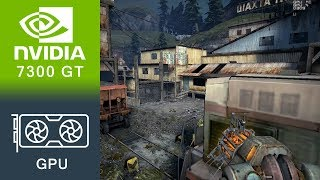 Half-Life 2 Episode 2 Gameplay GeForce 7300 GT
