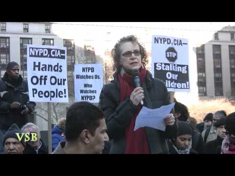 THE MUSLIM UMMA (Anti- NYPD) Rally IN NYC - Part 5