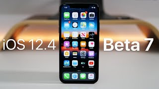 iOS 12.4 Beta 7 - GM - What's New?