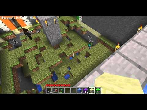 Minecraft - Les MDJ 1 Fais-moi tomber si tu peux (Spleefer)