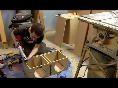 Building a ported subwoofer enclosure youtube for L ported sub box design