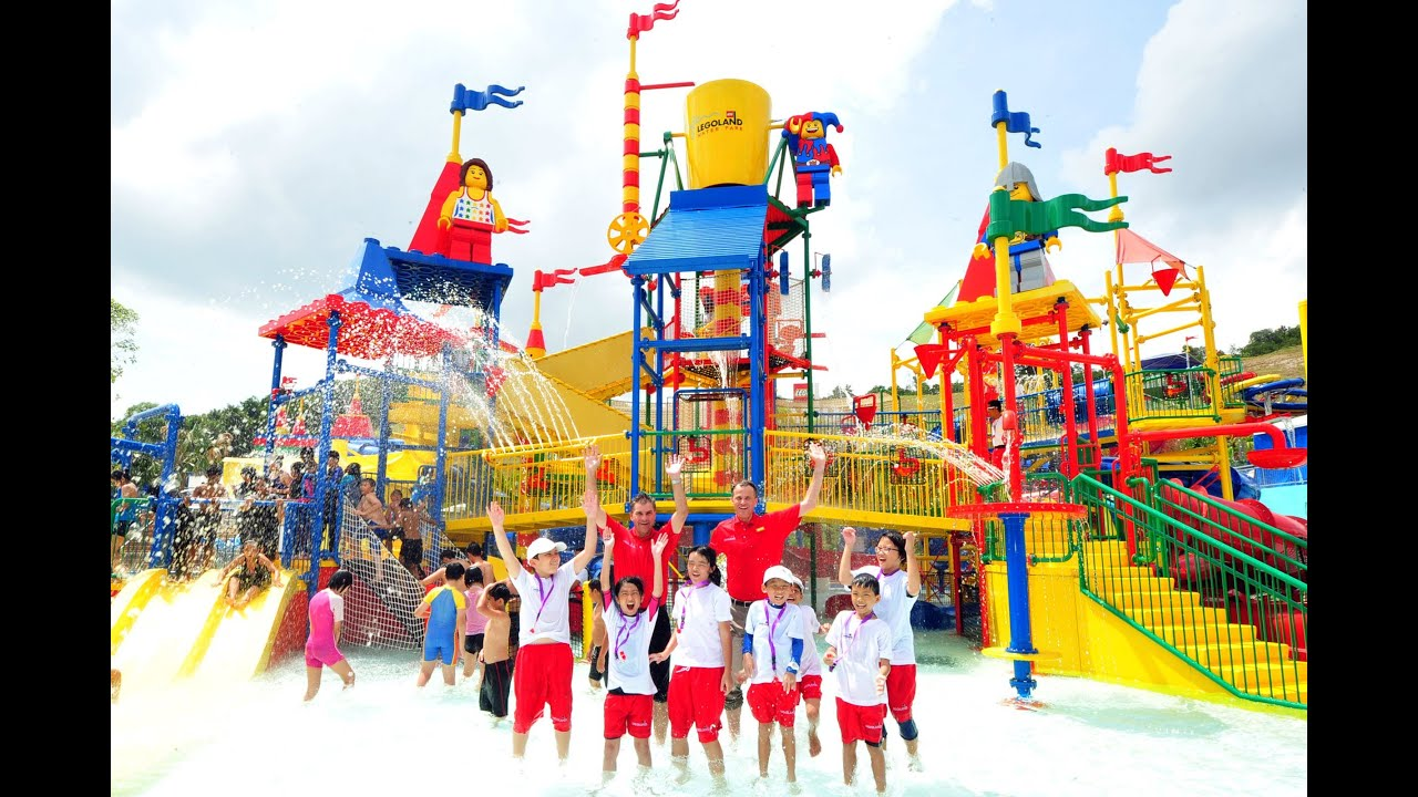 First Legoland 174 Water Park Opens In Malaysia Youtube