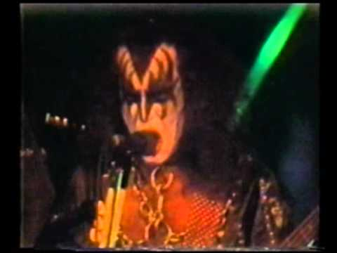 KISS - Larger Than Life  Video