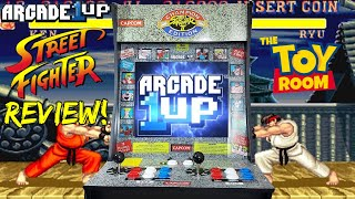 Arcade1Up Street Fighter II Arcade Cabinet REVIEW