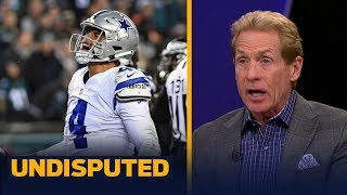 Skip Bayless reacts to the Cowboys' Week 10 SNF win over the Eagles   NFL   UNDISPUTED