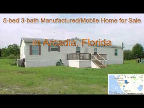 5-bed 3-bath Manufactured/Mobile Home for Sale in Arcadia, Florida on florida-magic.com