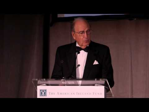 Sen. George J. Mitchell at The American Ireland Fund 40th Annual New York Dinner Gala, 2015