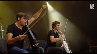 2cellos Smooth Criminal Live At Exit Festival