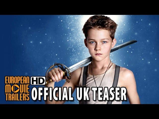 Pan UK Teaser Trailer #2 (2015) - Hugh Jackman, Levi Miller HD