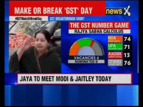 Tamil Nadu Chief Minister J Jayalalithaa to meet PM Modi