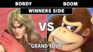 2GG Grand Tour Ohio - Bordy (Ken) VS Boom (Donkey Kong) - Smash Ultimate - Pools