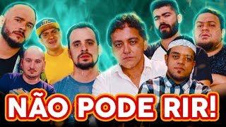 NÃO PODE RIR! com FutParódias, Francisco José Espínola e Nabote