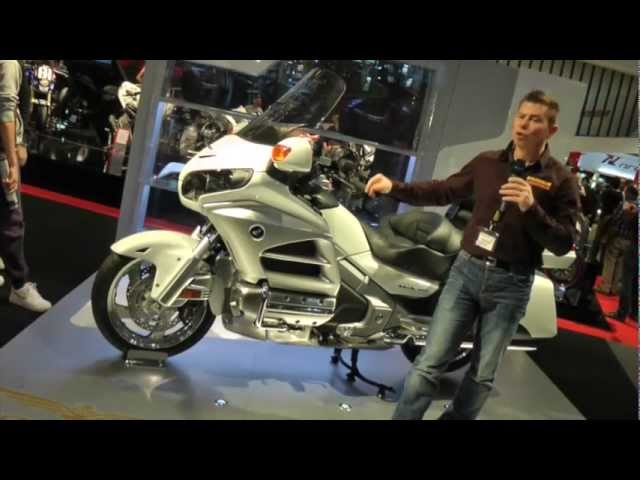 Vid�o En direct de Milan Eicma : Honda F6B, ou la Goldwing version... bagger custom !