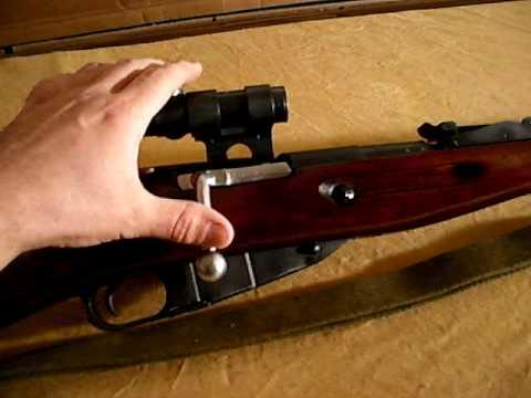 Mosin Nagant 91/30 PU Sniper Scope Rifle