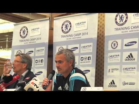 José Mourinho press conference in Austria I FC Chelsea Trainingslager