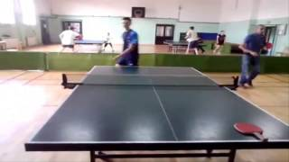 Table tennis-Forehand SideSpin Serve [Tutorial] [HD]