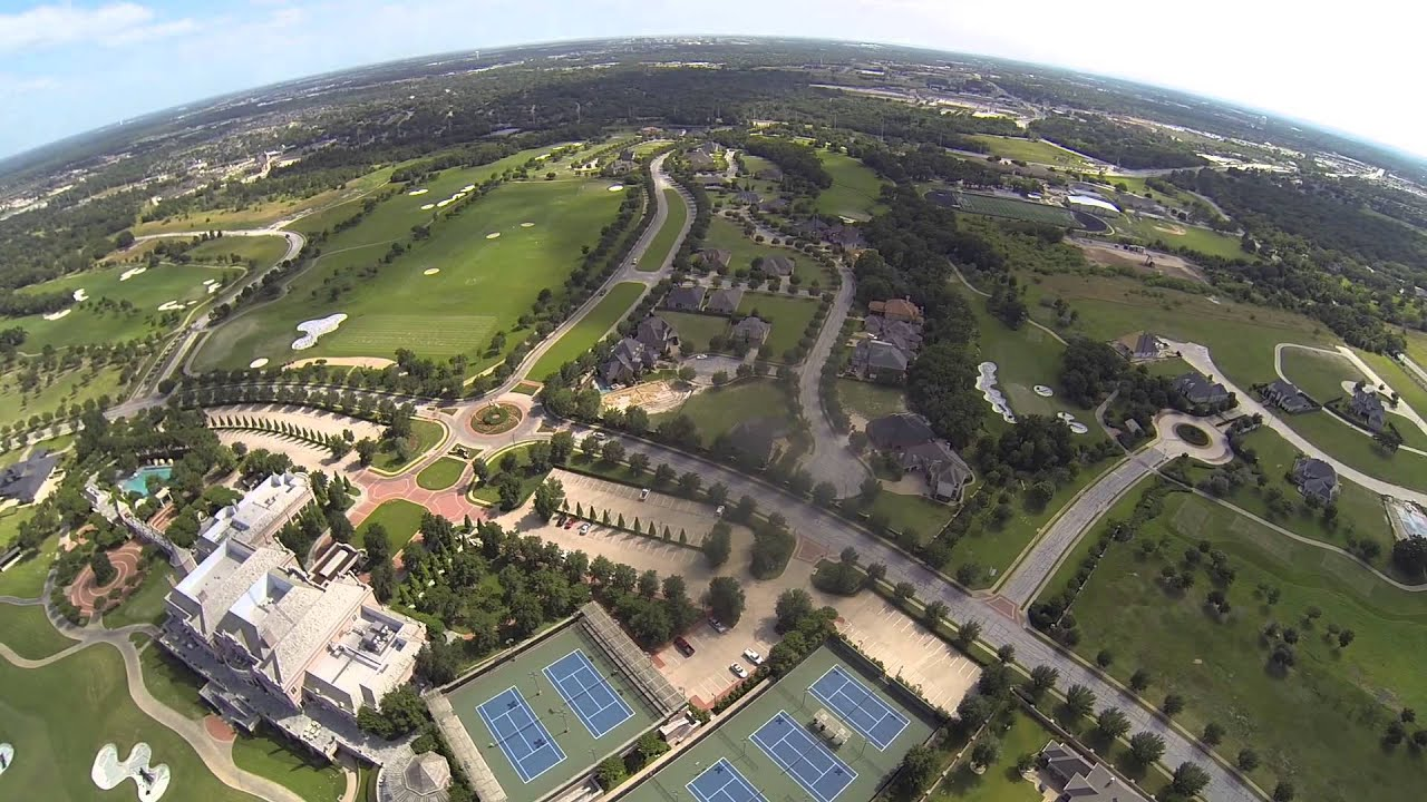 Aerial Video Of Miramont Country Club Amp Golf Course In