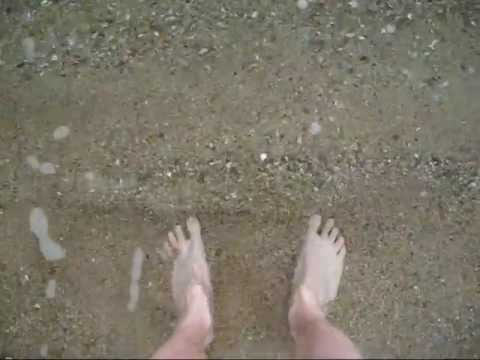 Naked Beach Feet - Greek Islands video