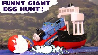 Thomas & Friends Big World Big Adventures funny Kinder Surprise Egg Hunt by Thomas Train TT4U