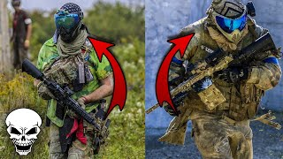 Playing Paintball with the Magfed Paintball Legends!