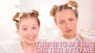 TURNING MY BIG SISTER INTO ME! 🤣 | Coco's World