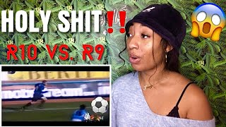 R10 vs R9 ● Skills Battle |HD REACTION 😱⚽️
