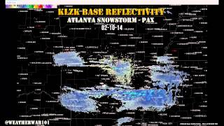 Geoengineering Atlanta Storm Pax from Weather War 101
