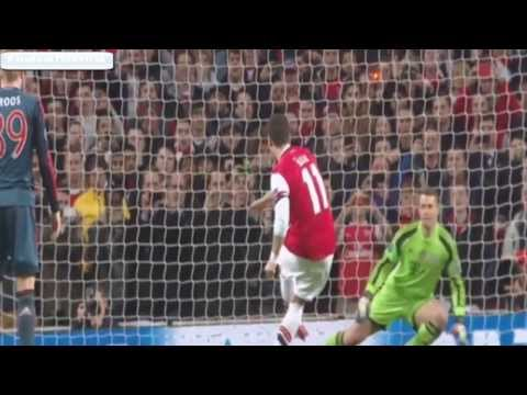 [HD] Mesut Ozil Missed a Goal of Penalty ~ Arsenal vs Bayern Munich [19/02/2014]