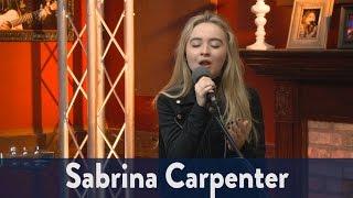 "Sabrina Carpenter Performs ""Run and Hide"""