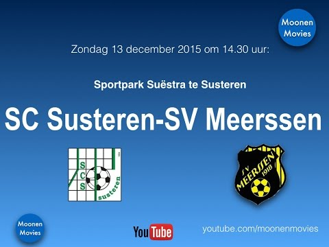SC Susteren-SV Meerssen 13-12-2015