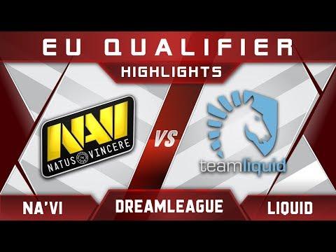 Liquid vs NaVi DreamLeague Major 2017 EU Highlights Dota 2