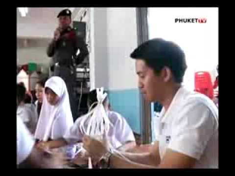 PHUKET TV: TOURIST POLICE ORGANIZES CRAFT PROJECT FOR YOUTH IN PA KHLOK