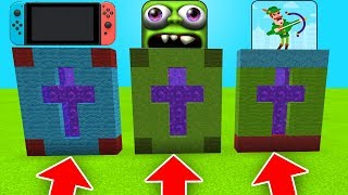 DO NOT CHOOSE THE WRONG CROSS IN Minecraft PE (Nintendo Switch, Zombie Tsunami & BOWMASTERS)
