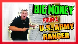 I Bought An Abandoned Storage Unit That Belonged To a US ARMY RANGER And Made BIG MONEY!