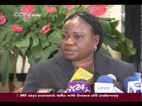 ICC Chief Prosecutor Bensouda on DRC situation