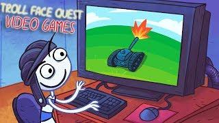 ТРОЛЛИМ ВИДЕОИГРЫ! Веселая игра Troll Face Quest Video Games от Cool GAMES