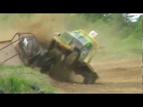 Tapa Autokross Andis Jurcinš big crash
