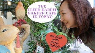 The Peter Rabbit Garden Cafe in Jiyugaoka, Tokyo, Japan