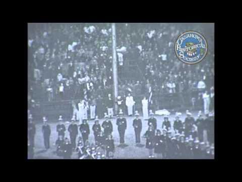 Central High School vs Enid High School. Circa 1950.