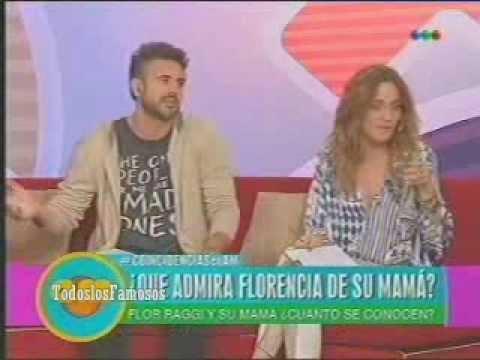 AM-Florencia Raggi y su mamá Nilda ¿Cuanto se conocen?
