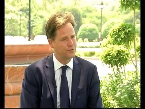 Ashim Ghosh Interviews British Deputy PM Nick Clegg
