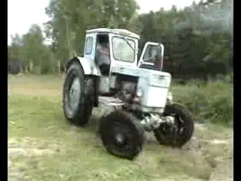Трактор Т-40.flv