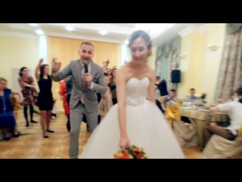 Ведущий устроил Манекен Челлендж (Mannequin Challenge) на свадьбе в Москве