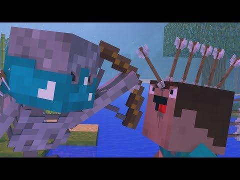 Skeleton Encounter - Minecraft Animation