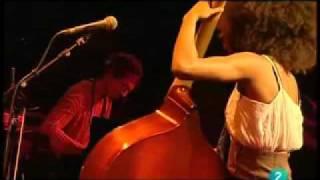 Esperanza Spalding Crayola Live In San Sebastian July 23 2009